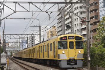 2016年9月28日、高田馬場~下落合、2081F+2417Fの2642レ。