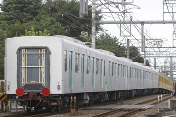 2016年9月1日 10時42分頃、所沢~西所沢、263Fに牽引され小手指車両基地へ向かう飯能方の5両。