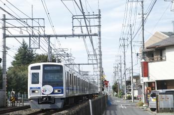 2016年10月23日、所沢~西所沢、6157F(ガーデン)の1806レ(32M)。