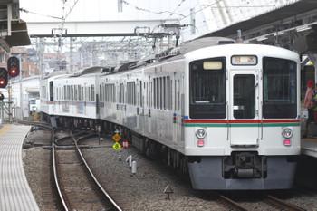 2016年10月23日7時22分頃、所沢、4番ホームから発車した4005F+4003Fの上り回送列車。