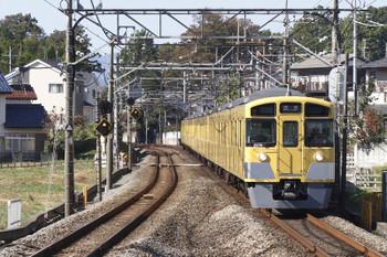 2016年11月4日 11時45分、元加治、2069F+2463Fの上り回送列車。