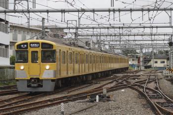 2016年9月22日 14時51分頃、飯能、「各停 西武秩父」表示で高麗から到着する2073Fの上り臨時列車。