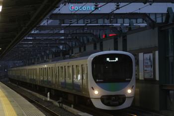 2016年11月5日 6時11分頃、練馬、38103Fの上り回送列車。