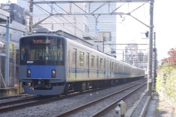2016年11月7日、高田馬場~下落合、20157Fの5137レ。