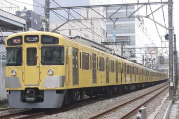 2016年11月10日、高田馬場〜下落合、2095F+2407Fの2643レ。
