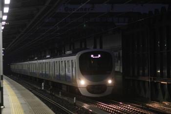 2016年11月19日、練馬、38104Fの上り回送列車。