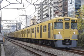 2016年11月30日、高田馬場~下落合、2007Fの5128レ。