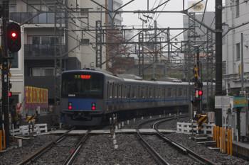 2016年12月1日 8時31分頃、高田馬場~下落合、20108Fの準急 西武新宿ゆき。