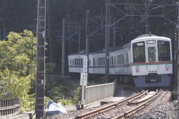 2016年10月27日 10時26分頃、武蔵横手、5093レだった4003Fの戻しの上り回送列車。