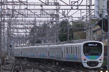 2016年11月6日 16時19分頃、西所沢、1番ホームから発車し池袋へ向かう臨時快速の38110F。