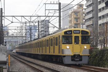 2016年12月20日、高田馬場~下落合、2095Fの5128レ。