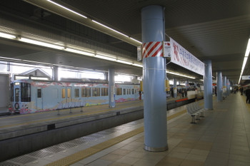 2016年12月18日 11時46分頃、本川越、1番ホームで出発を待つ4009F。