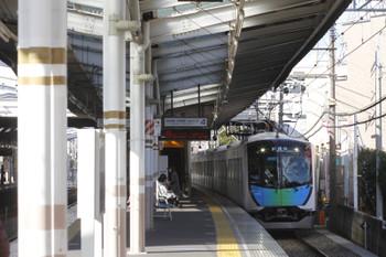 2016年12月23日 11時12分頃、小平、本川越方から到着する40102Fの上り試運転列車。