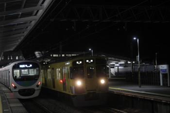 2017年1月4日、西所沢、30104Fの3102レと9107Fの5103レ。