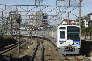 2017年1月17日 9時42分頃、秋津~所沢、6157F(ライオン)の6814レ。