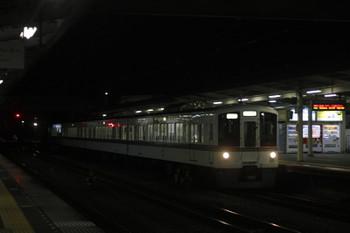 2017年1月17日 20時20分頃、仏子、通過する4011Fの上り回送列車。