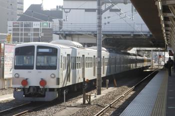 2017年1月22日 12時56分頃、所沢、発車する1241F+263F。
