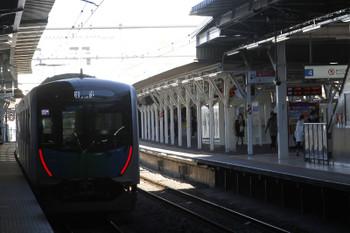 2017年1月21日 12時41分頃、所沢、40102Fの上り回送列車。