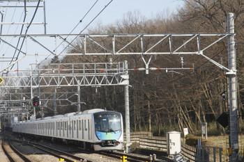 2017年1月22日 14時15分頃、仏子、40101Fの下り試運転列車。