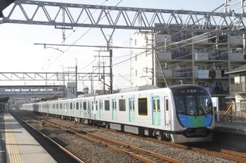 2017年1月22日 14時31分頃、仏子、40101Fの上り試運転列車。