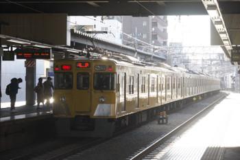 2017年1月24日、東長崎、2413F+2081Fの2506レ。