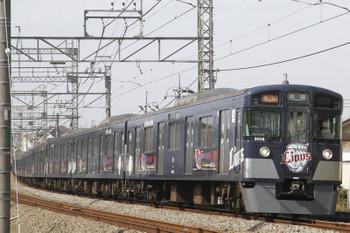 2017年3月12日、西所沢、9108Fの2142レ。