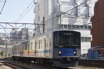 2017年3月17日、高田馬場~下落合、20101Fの下り試運転列車。