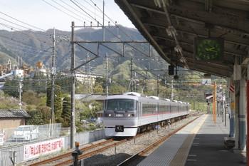 2017 年4月27日 14時8分頃、横瀬、電留線から出てきた10110F。