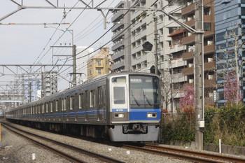 2017年4月3日、高田馬場~下落合、6101Fの2754レ。