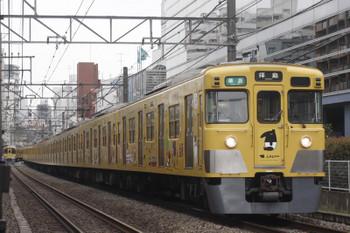 2017年4月7日、高田馬場~下落合、2007F+2459Fの4307レ。。