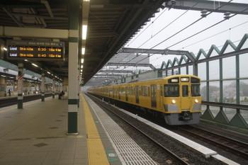 2017年4月9日 6時11分頃、練馬、2063Fの上り回送列車が通過。