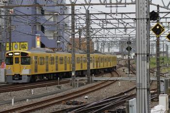 2017年5月12日 17時38分、所沢、6番線から発車した2513Fの下りり回送列車。
