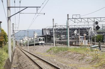 2017年5月20日 11時52分頃、西武秩父駅~御花畑駅、4023Fのリレー3号。