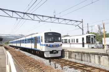 2017年5月20日、長瀞、6201ほかの1007レとリレー5号で到着した西武4023F。
