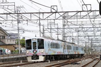 2017年5月14日 8時28分頃、西所沢、4009F(52席)の下り臨時列車。