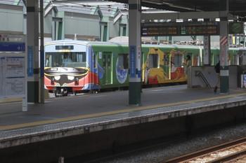 2017年5月27日 14時10分頃、練馬、通過する20158Fの上り回送列車。