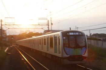 2017年5月28日、秋津、40101FのS-TRAIN・404レ。