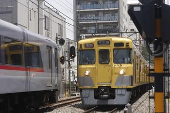 2017年6月14日、高田馬場~下落合、1010Fの120レ(左)と2003Fほかの2641レ。