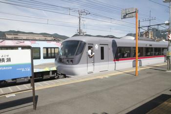 2017年6月19日 14時30分ころ、横瀬、発車した10111Fの30レとその奥の4009F。