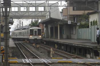 2017年5月27日 11時5分頃、御花畑、秩父駅から横瀬駅へ戻る4003Fの回送列車。