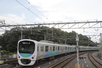 2017年7月22日、入間市、発車した38107Fの1002レ。