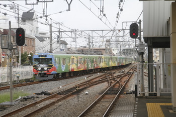 2017年8月19日 10時42分ころ、新所沢、1番ホームから発車した20158Fの下り臨時。