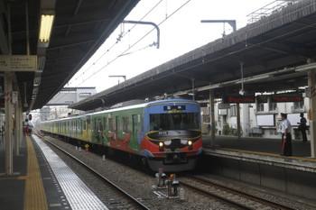 2017年8月19日 14時12分ころ、新所沢、会場からの上り臨時列車が3番ホームへ到着。