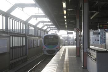 2017年7月29日 6時12分ころ、桜台、38110Fの上り回送列車。