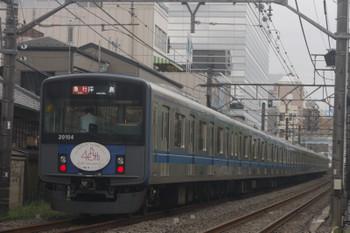 2017年8月15日、高田馬場〜下落合、20104Fの2327レ。