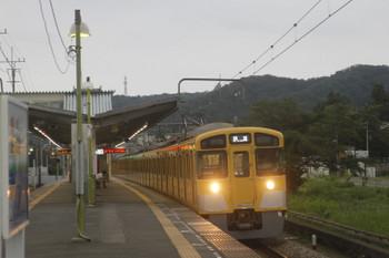 2017年8月20日、元加治、2087Fの下り回送列車。