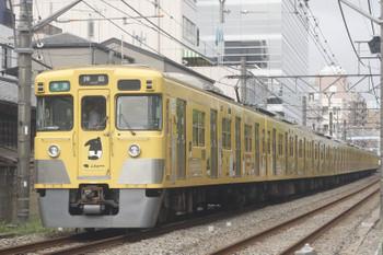 2017年8月21日、高田馬場〜下落合、207F+2403Fの4307レ。