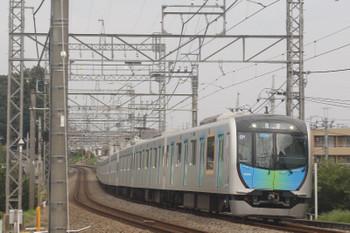 2017年8月24日 6時19分ころ、西所沢、40102Fの上り回送列車。