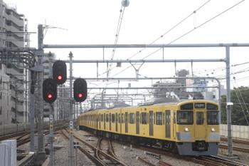 2017年10月1日 12時35分ころ、練馬、豊島園駅から戻ってきた「同窓会電車」。車内に乗客はなかった気がしてます。