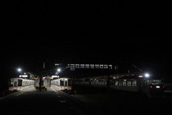 2017年9月19日 4時45分ころ、西武秩父、左から4001F・4015F・10103f。